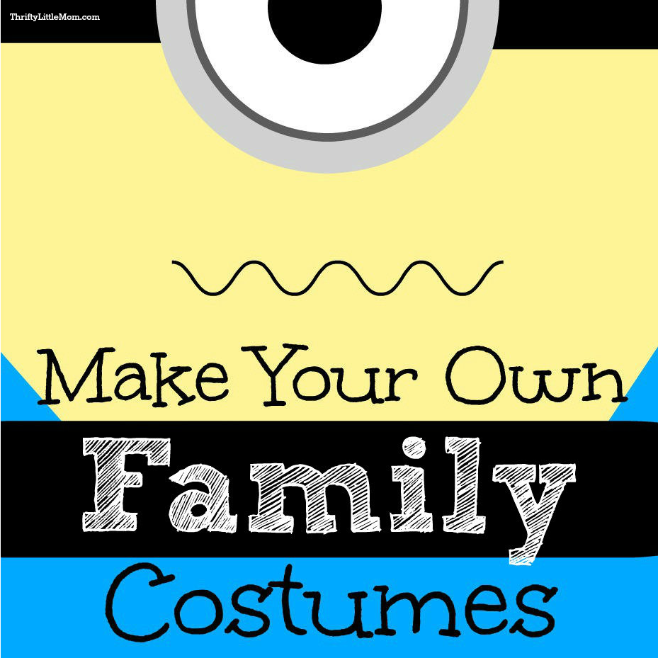 Make Your Own Family Costumes
