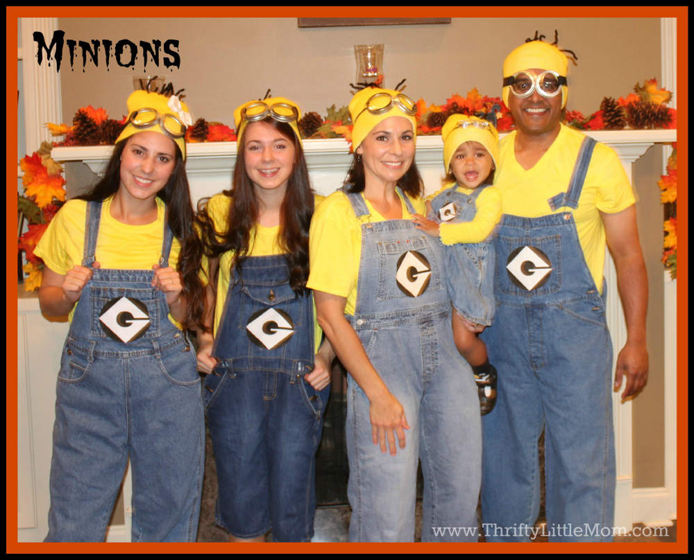 Make Your Own Minion Costume Ideas
