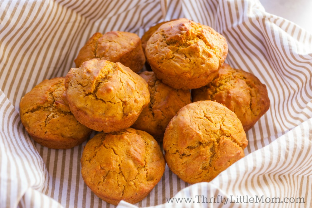 How To Make Pumpkin Spice Muffins With Spice Cake Mix