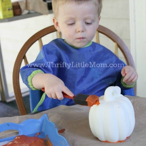 The Annual Pumpkin Patch Craft Project