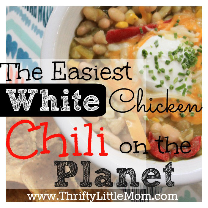 The Easiest White Chicken Chili Recipe on the Planet!