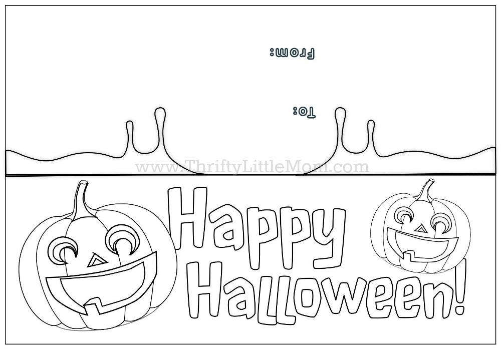Free Printable Halloween Treat Bag Topper