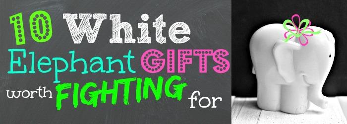 White Elephant Gift Ideas For Family
