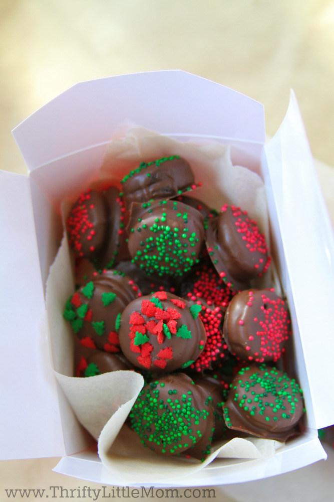 Chocolate Covered Mini Oreo Bites Box