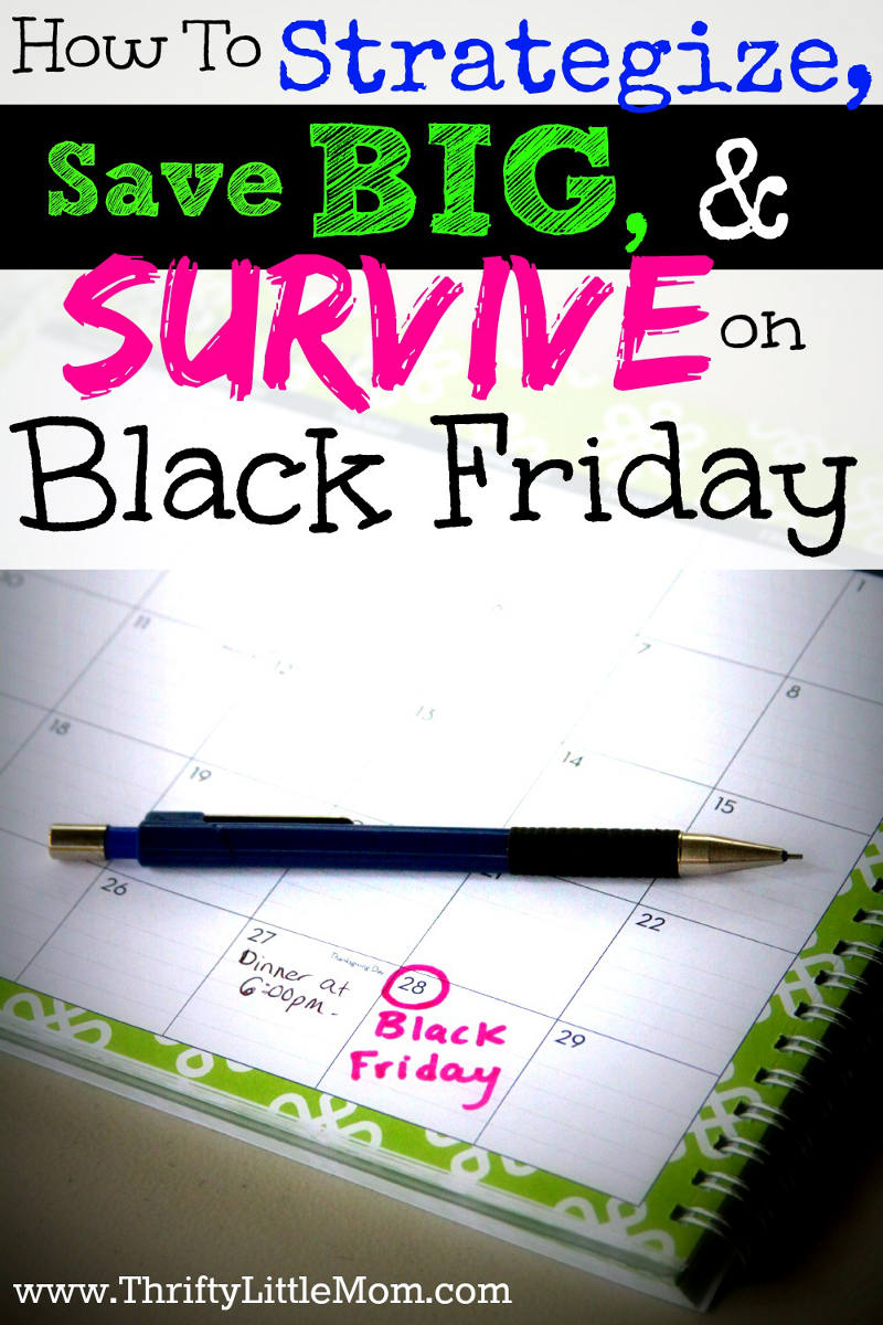 How to strategize, save big and survive on Black Friday. Find 5 helpful tips to make your Black Friday a success. #sponsored