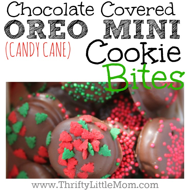 Chocolate Covered OREO Mini Cookie Bites