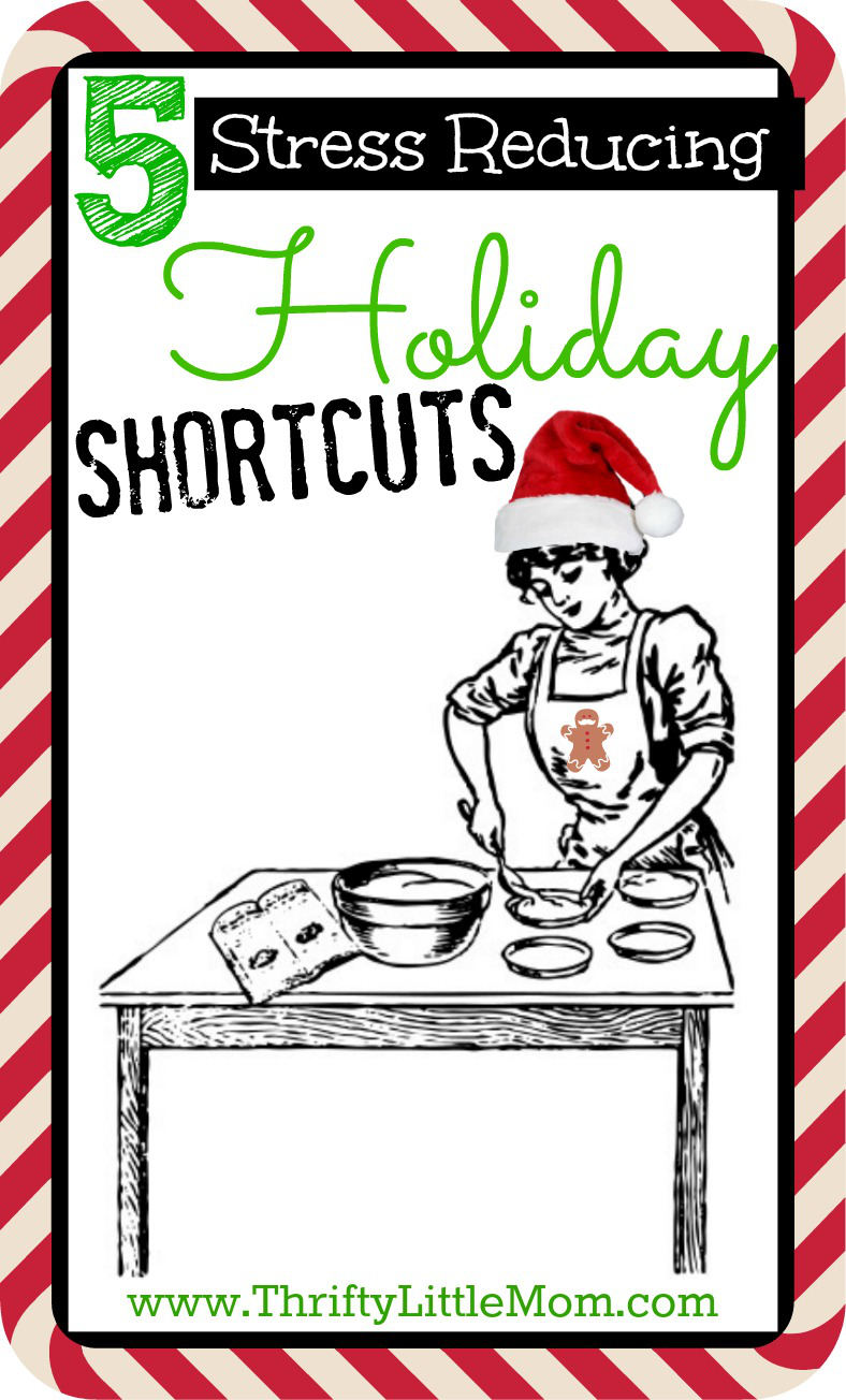 5 Stress Reducing Holiday Shortcuts to help you survive and thrive this Holiday season. From gifts, to hosting, to party outfits, we've got you covered!