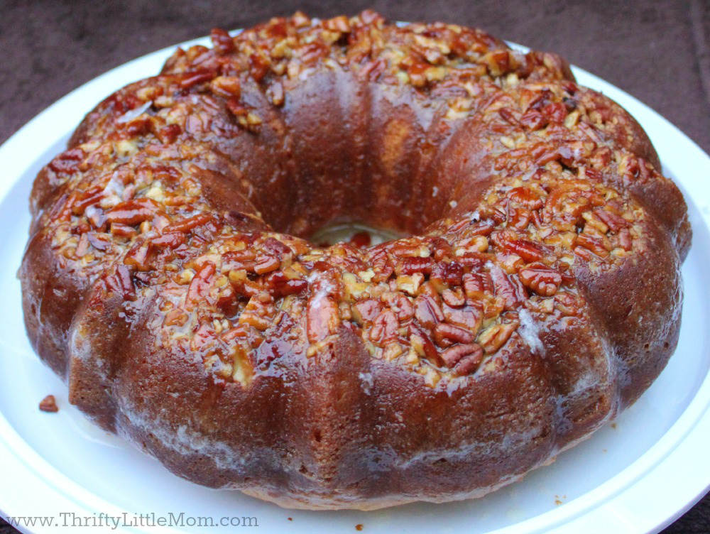 Easy Homemade Rum Cake Recipe