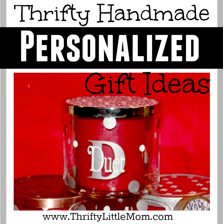 Thrifty Handmade Personalized Vinyl Decal Gift Ideas