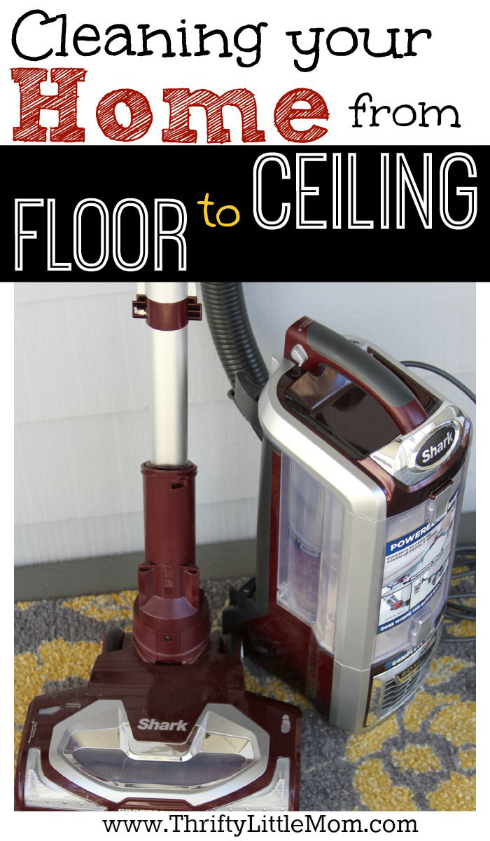 Cleaning Your Home from Floor to Ceiling can be quick and easy with the right tool for all those jobs. Check out this awesome vacuum. #sponsored