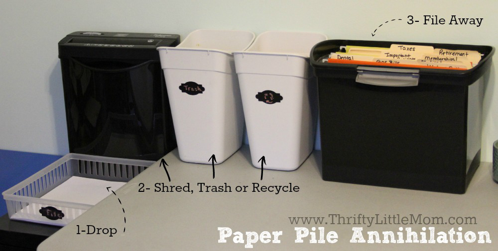 Paper Pile Annihilation System