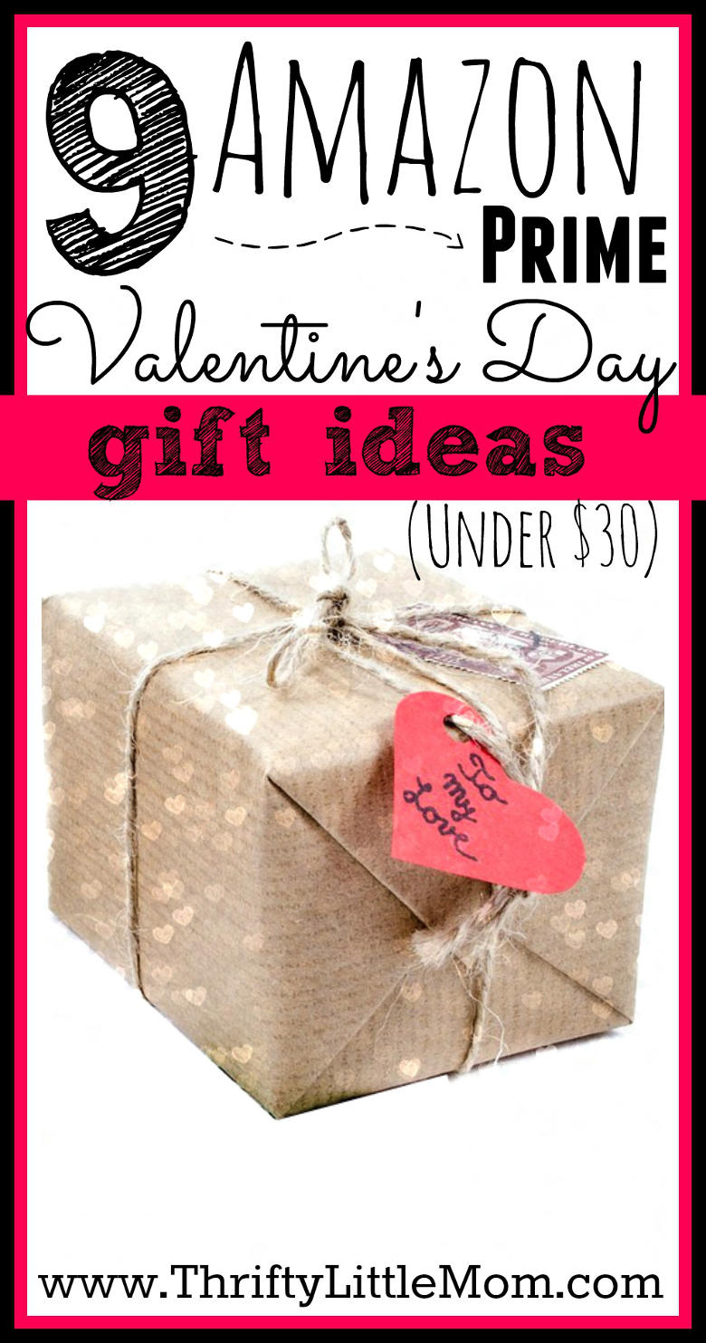9 Amazon Prime Valentine's Day Gift Ideas. Perfect gift ideas that you can have delivered quick from Amazon!