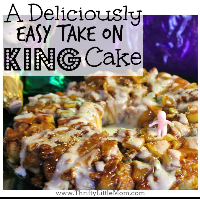 A Deliciously Easy Take on King Cake. Try this recipe with your family!