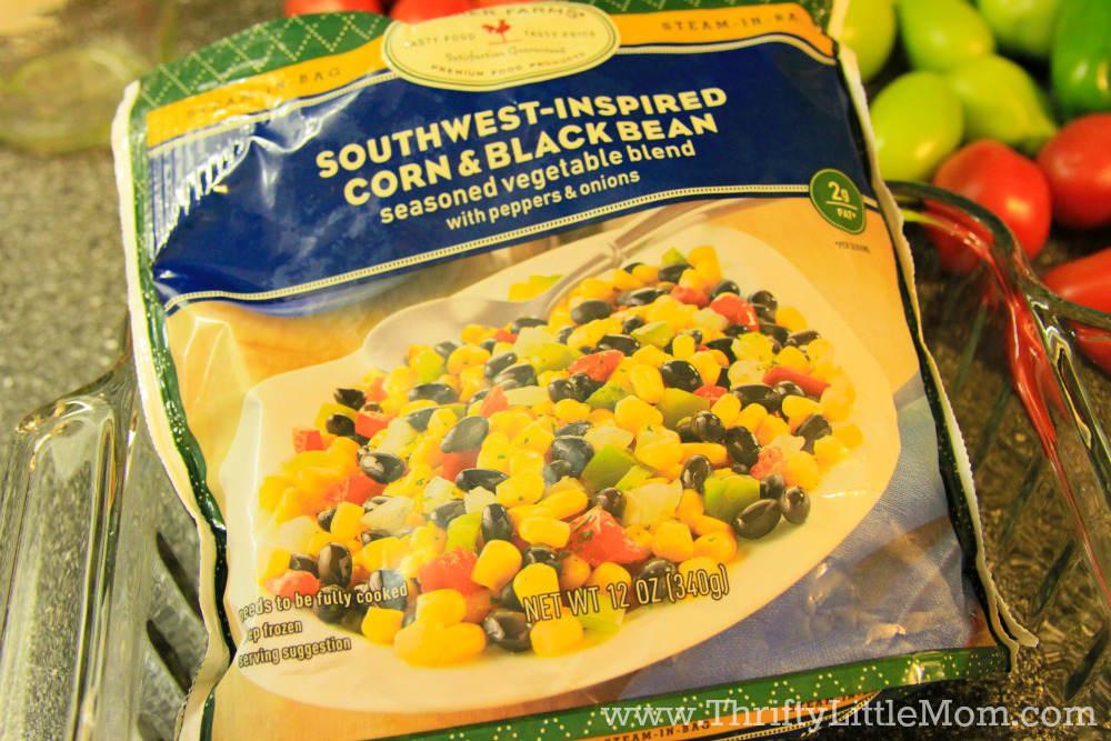 Ain't Got No Time Enchiladas Black bean mix