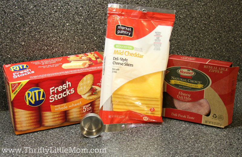 Cracker Stacks for Your Lunch Pack Supplies