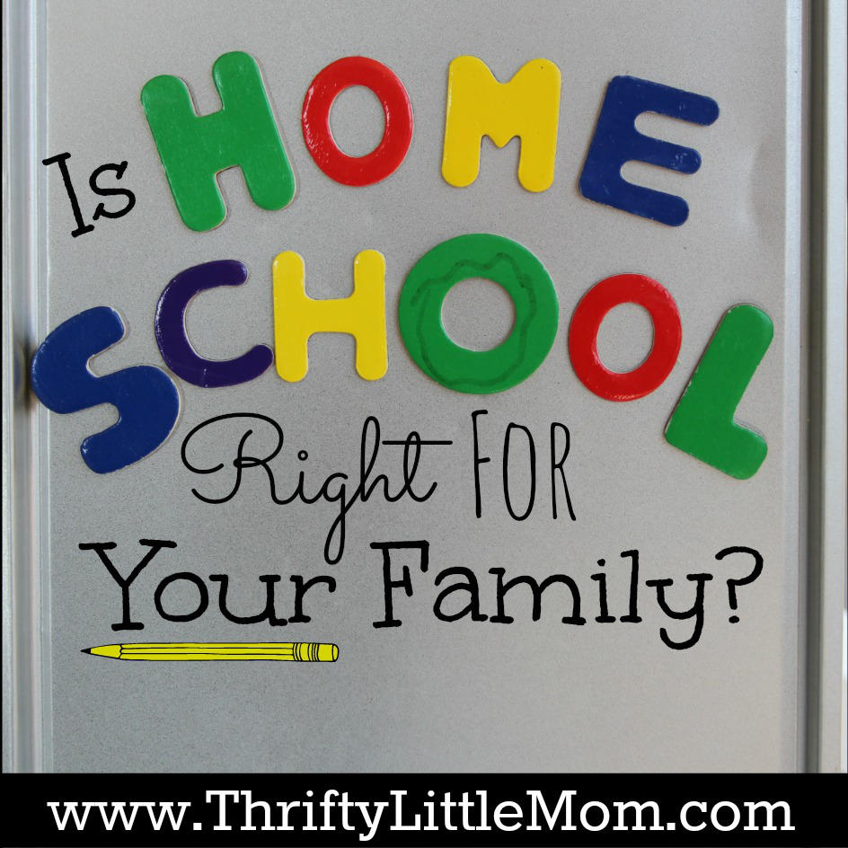 Is Home School Right For Your Family