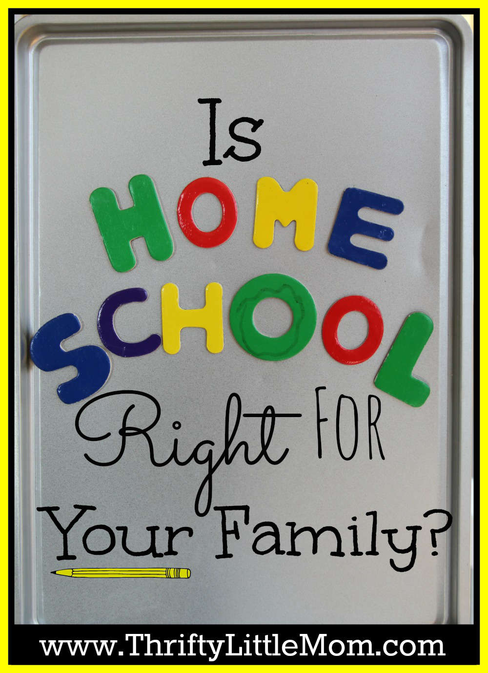 is homeschool right for your family. things to consider before making the switch
