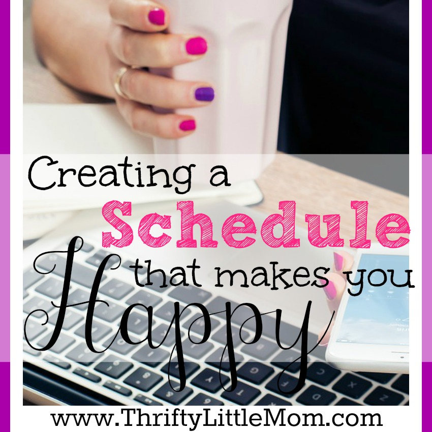 Creating a Schedule that make you happy in life