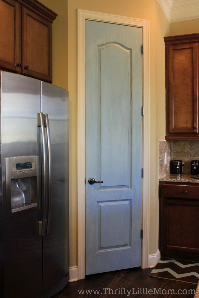 Finished Pantry Door Pain