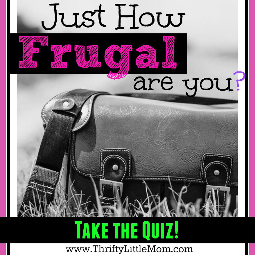 The Just How Frugal Are You Quiz