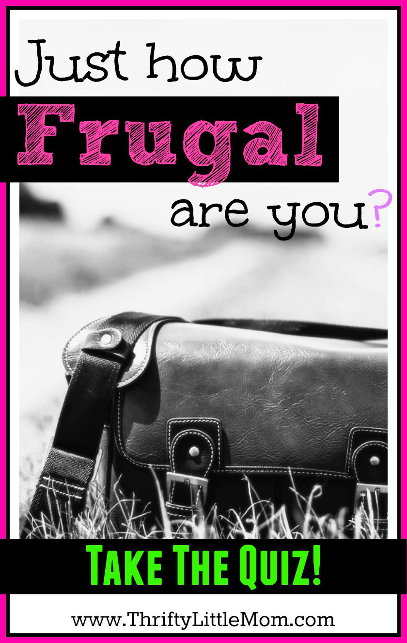 Just how frugal are you. Take this simple and quick quiz to see just how thrifty you are.