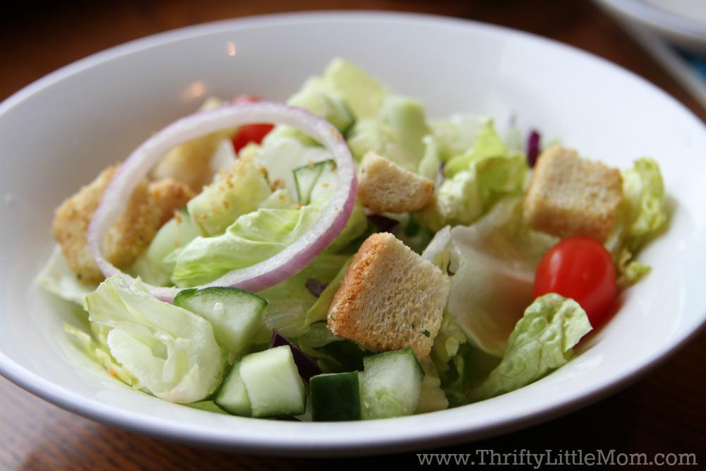Red Lobster Starter Salad