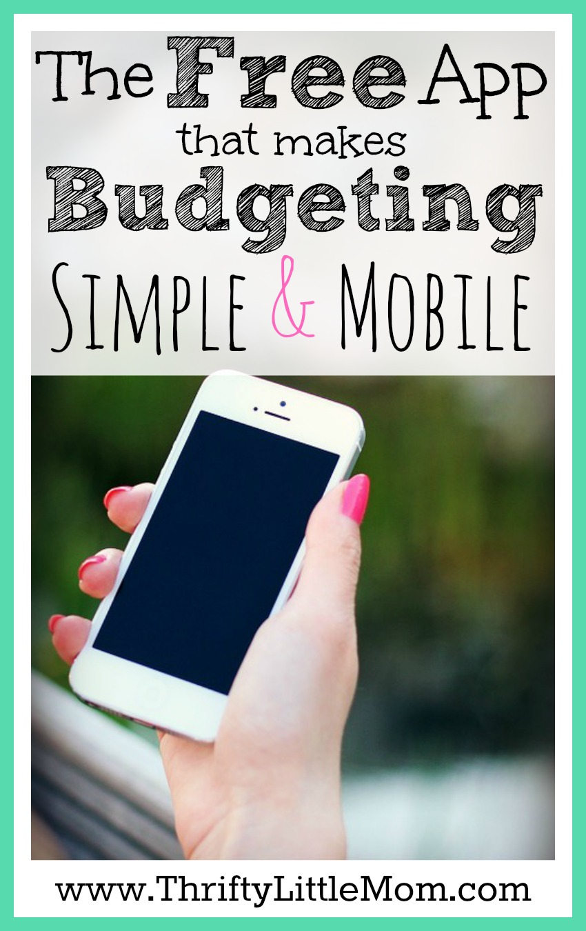 The Free App that makes budgeting simple and mobile