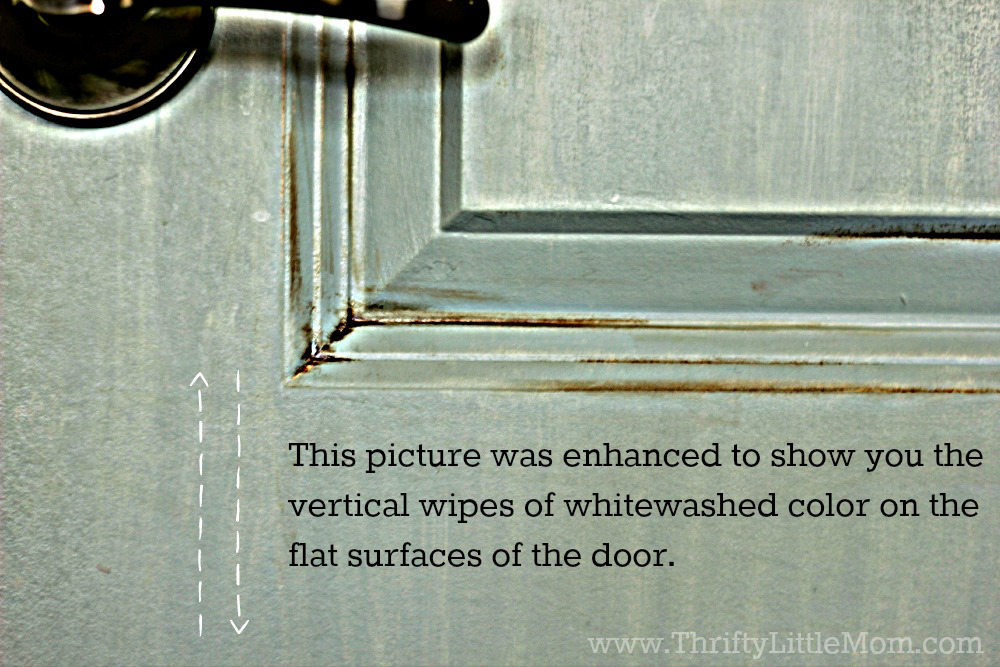 Vertical Whitewashed Color Application