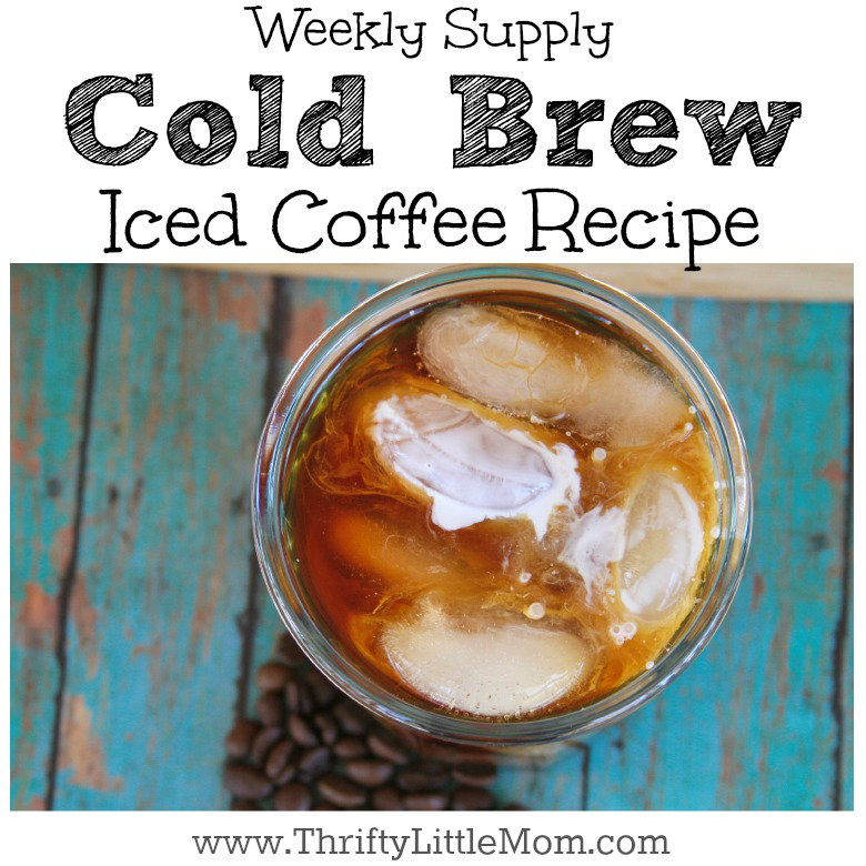 Weekly Supply Cold Brew Iced Coffee Recipe