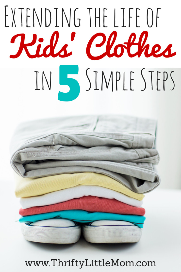 Extending the life of kids clothes in 5 simple steps