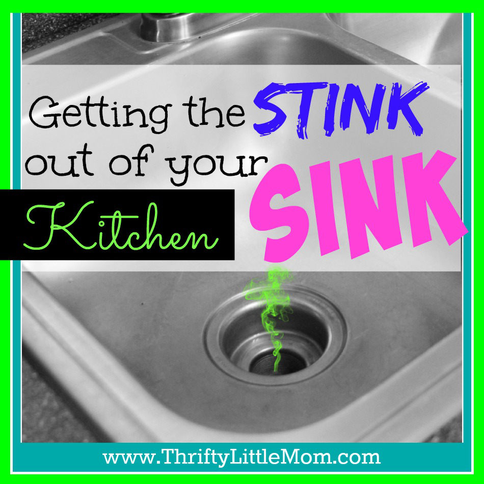 Getting the stink out of your kitchen sink the easy way