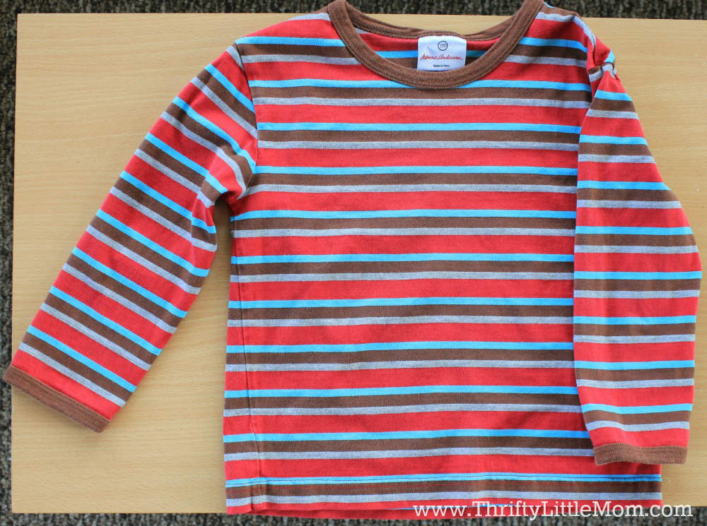 Kids Shirt for Cropping