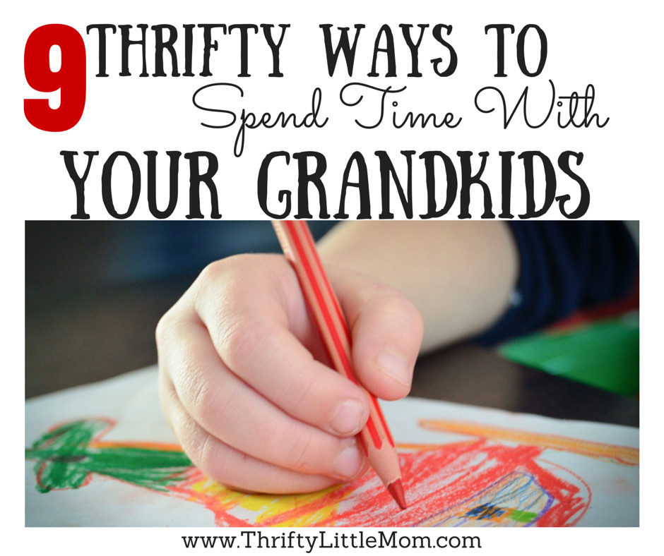 9 thrifty ways to spend quality time with your grandkids