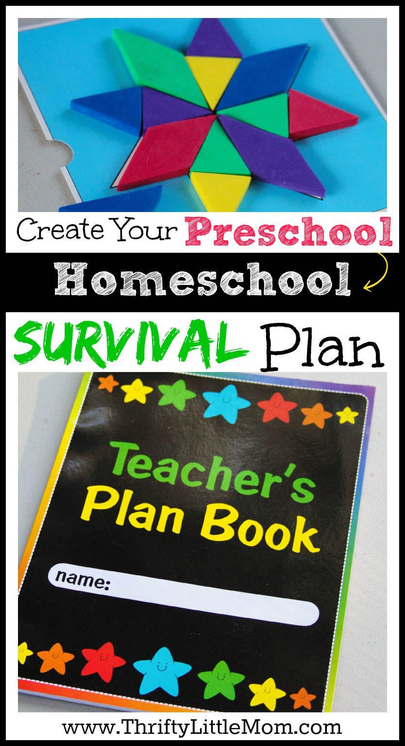 Create Your Preschool Homeschool Survival Plan