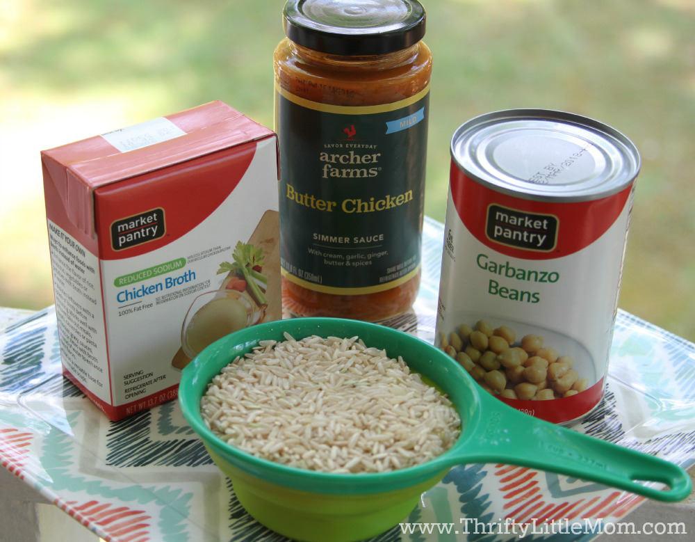Debt Free Recipe Butter Chicken Ingredients