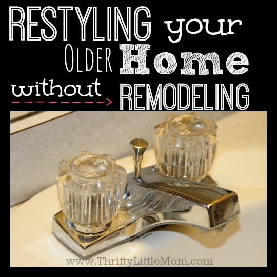 Restyling without remodeling square