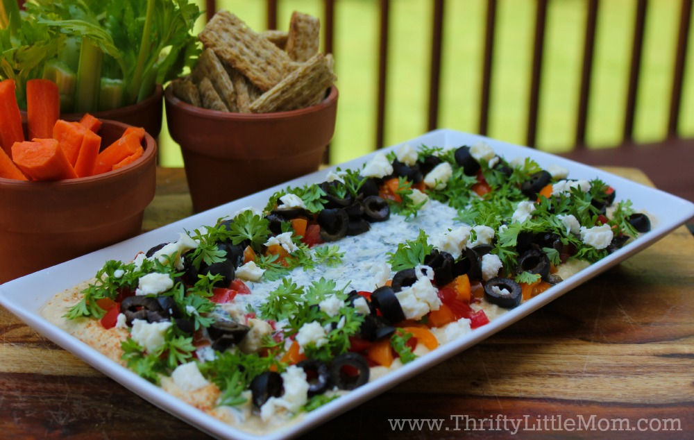 Super Easy Layered Greek Dip Recipe