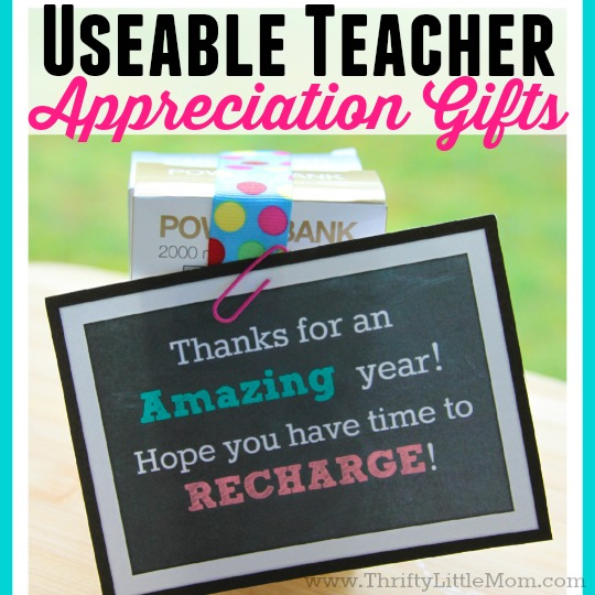 Useable Teacher Gifts