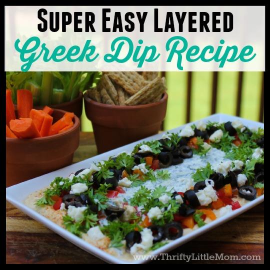 super easy greek dip
