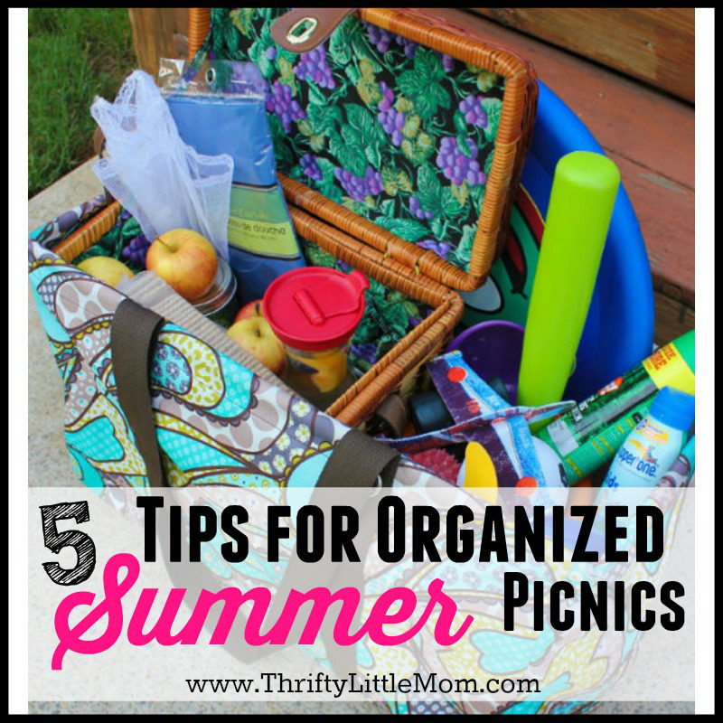 5 Tips for Organized Picnics