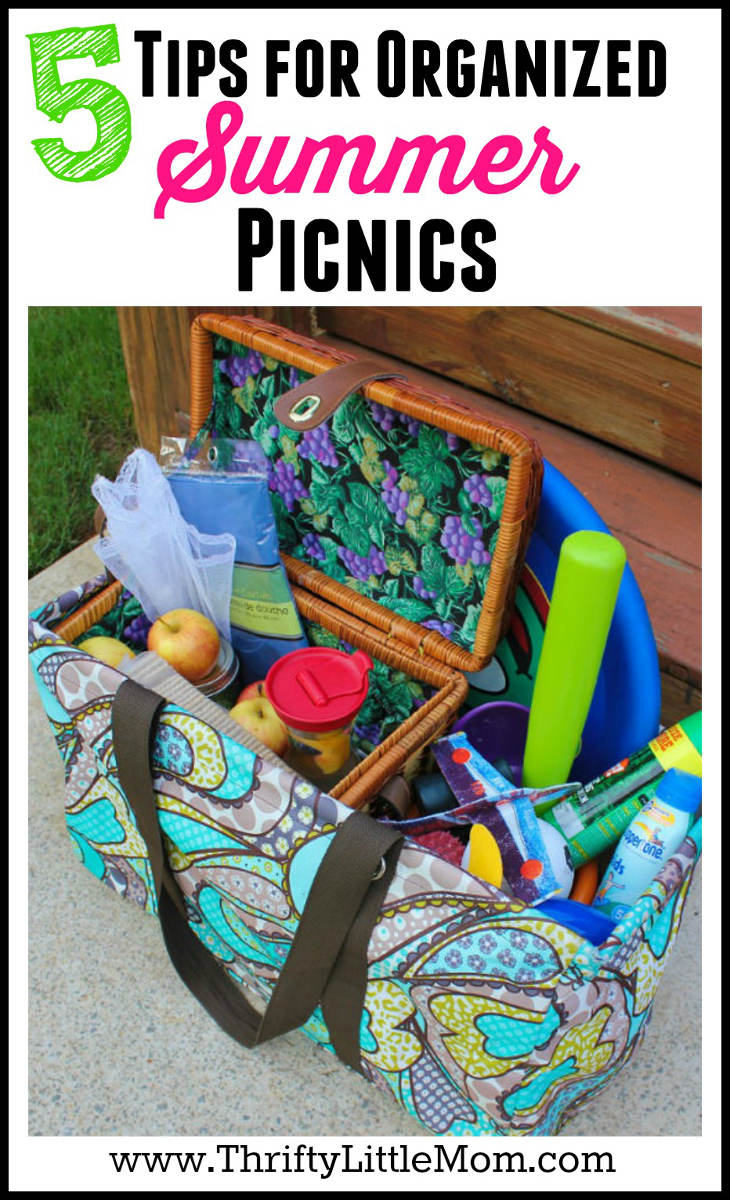5 Tips for Organized Summer Picnics