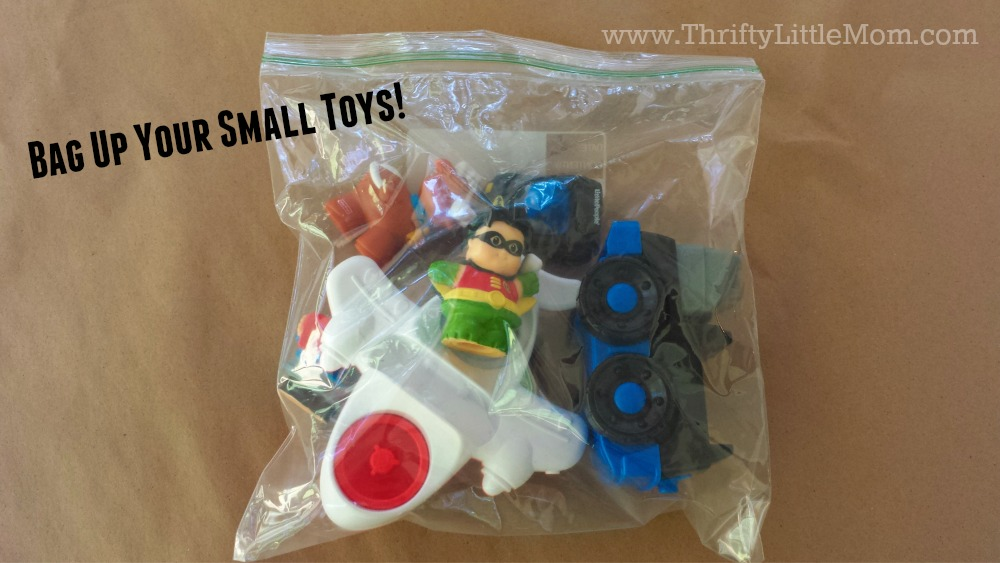 Bag Up Your Small Toys