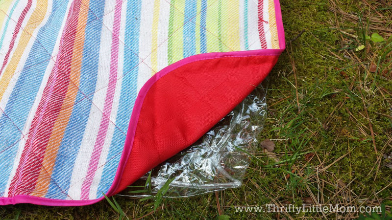 Keeping Picnic blankets dry