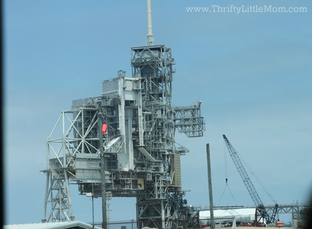 Launch Pad Up Close