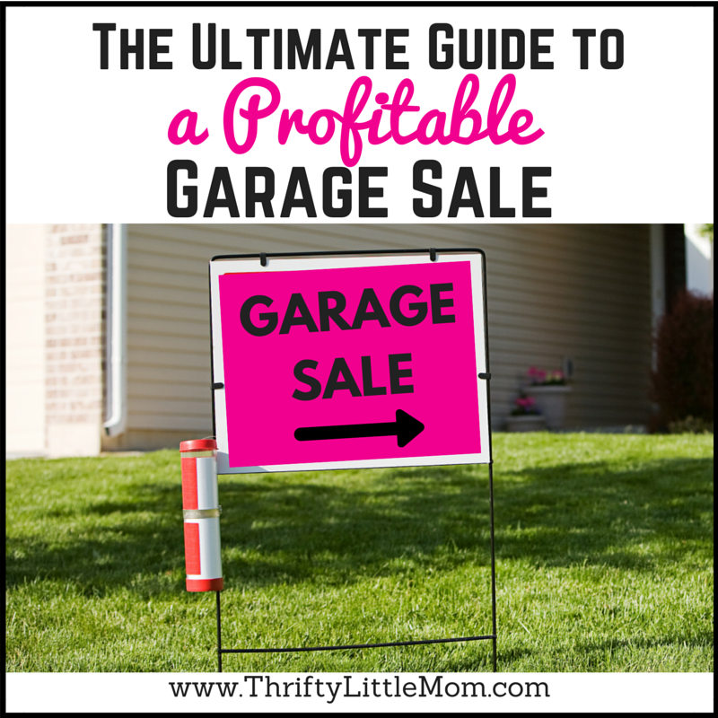 The Ultimate Guide to hosting a profitable garage sale