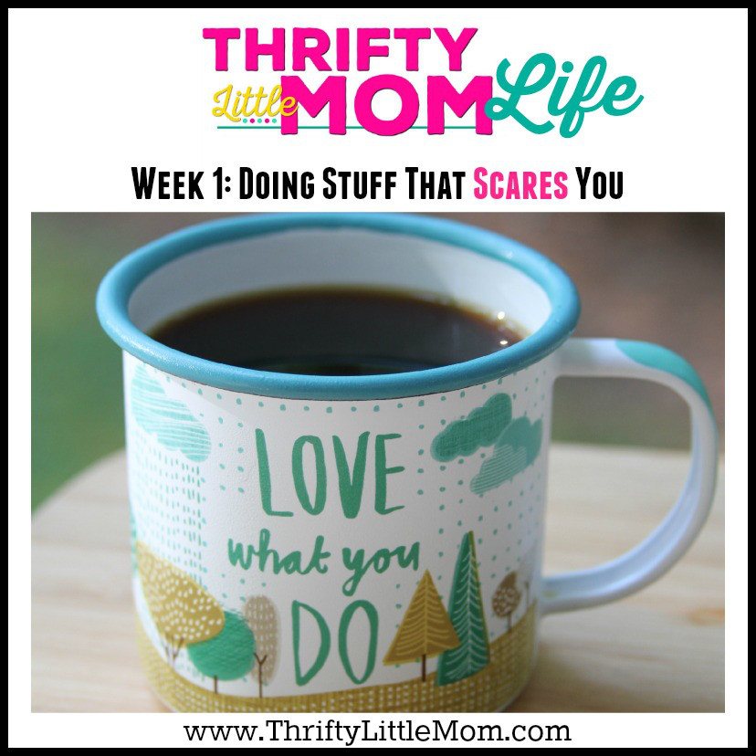 Thrifty Little Mom Life Week 1 Doing Stuff That Scares You