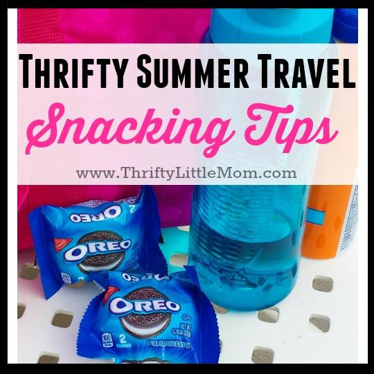 Thrifty Summer Travel Snacks
