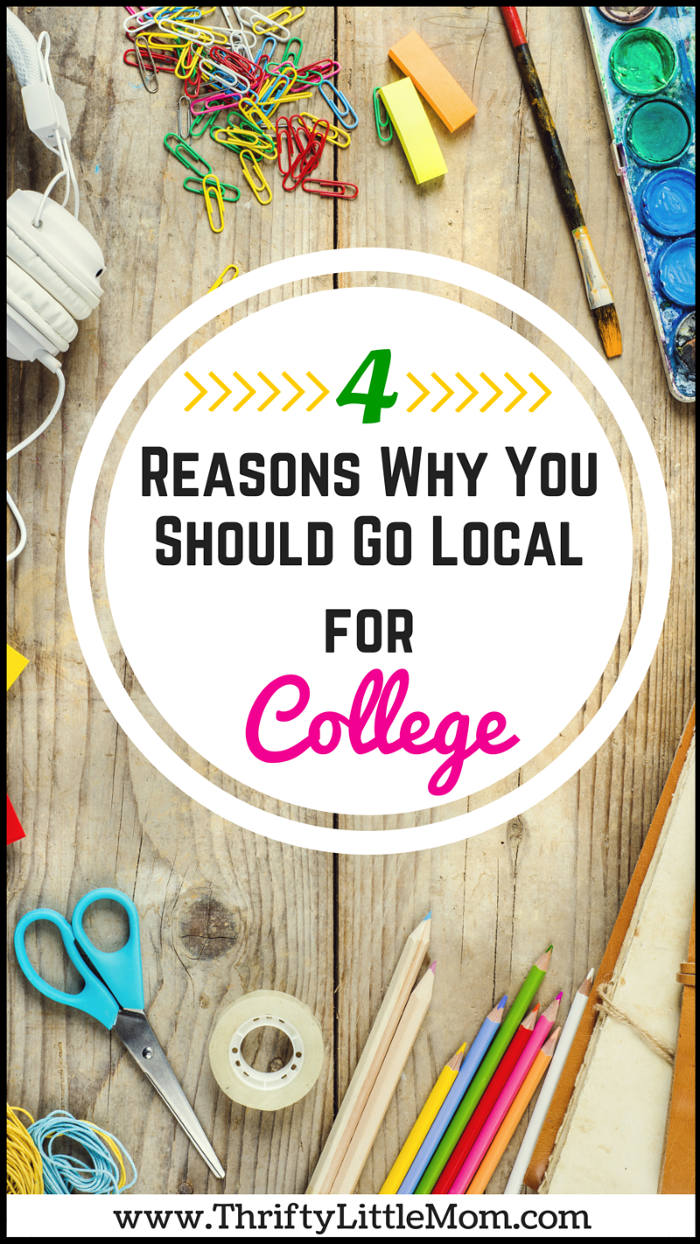 4 Reasons Why You Should Go Local For College