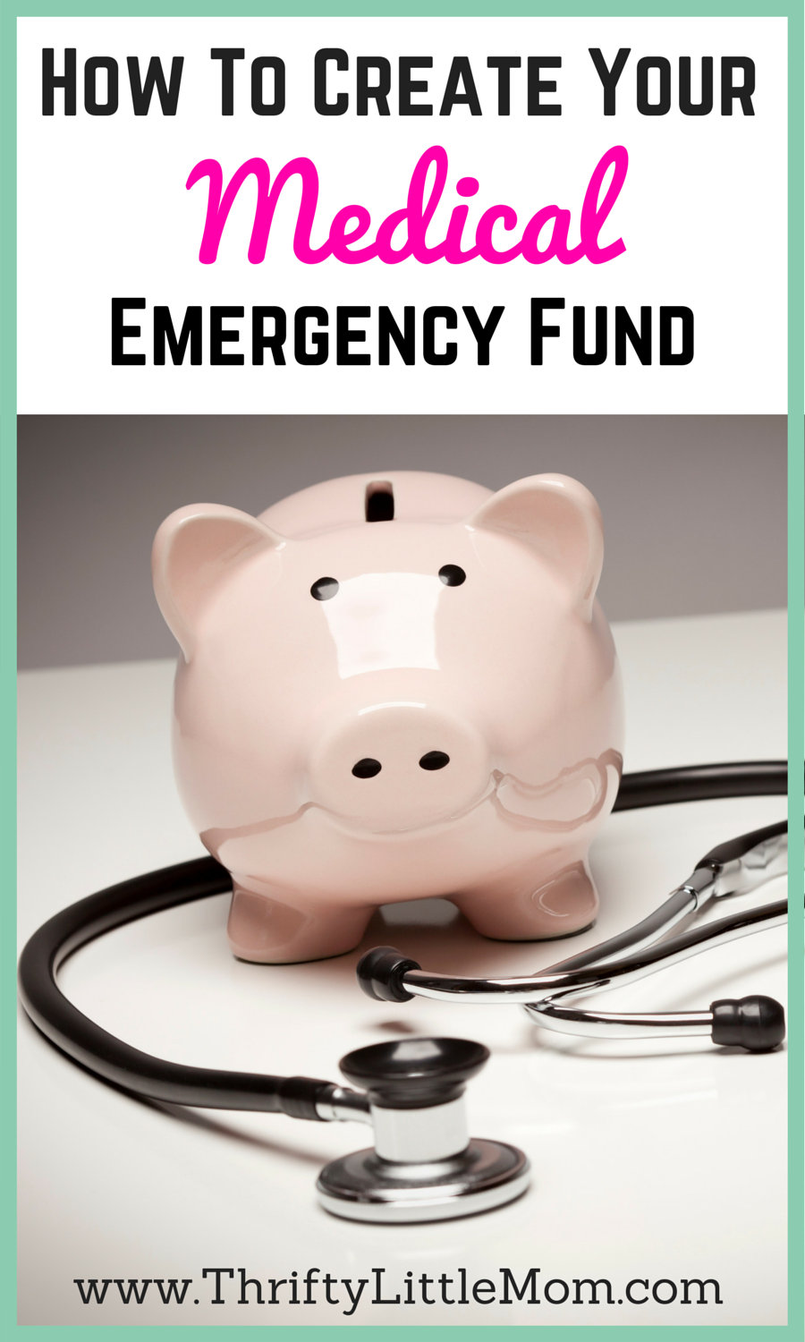 How To Create Your Emergency Medical Fund