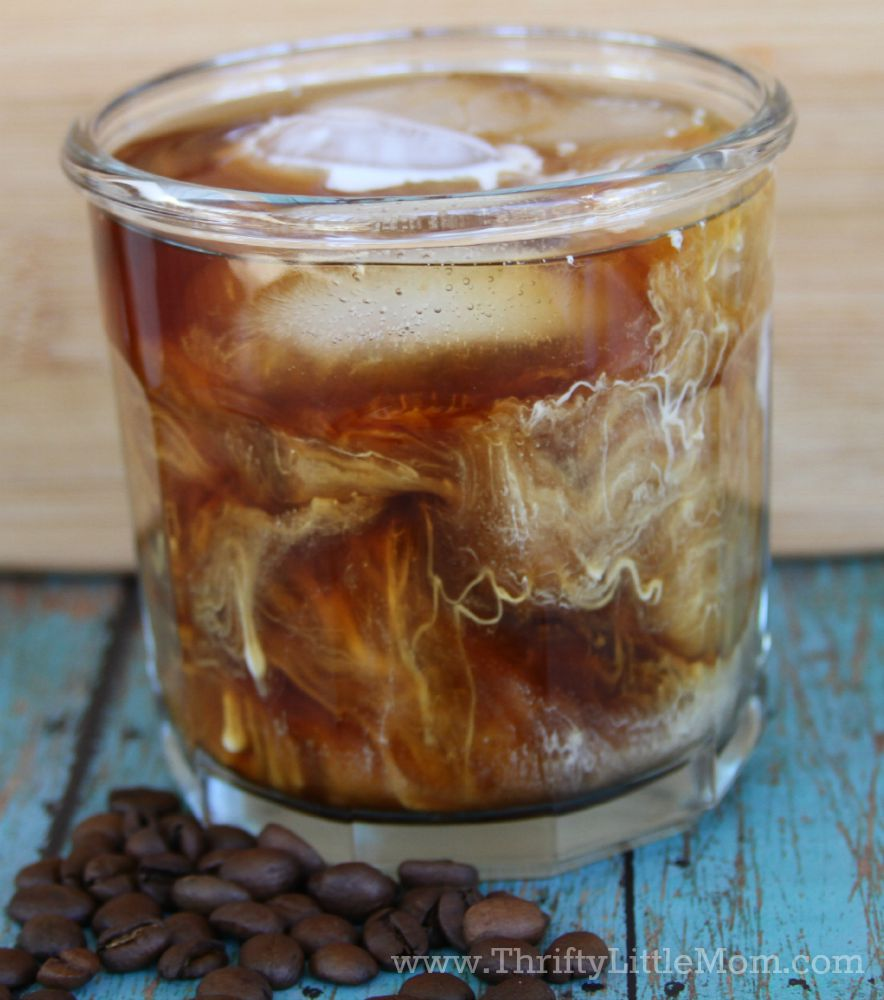 Iced Coffee With Creamer